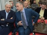 Gosti - Boris Tadic i Cedomir Jovanovic lideri SDS i LDP