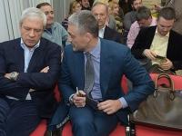 Gosti - lideri SDS i LDP Boris Tadic i Cedomir Jovanovic